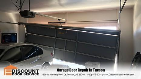Fixing garage doors around Tucson since 1999