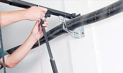 garage door repair service performed in Tucson by Discount Door Service